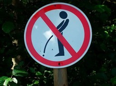 No Peeing Allowed