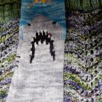 Yes, that's a shark sock with a blood bead