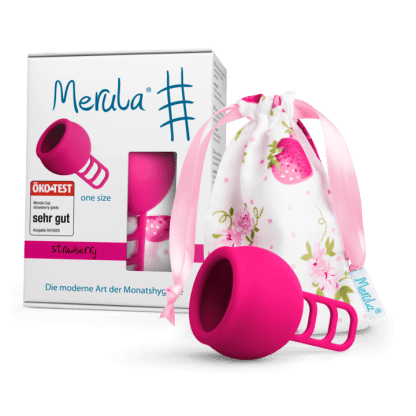 Merula Mooncup Menstruationstasse pink