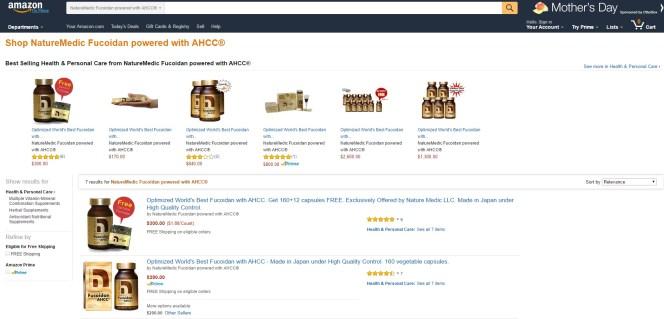 Amazon Shop Front Page