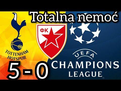Totenhem – Crvena Zvezda 5-0 ☆ Gde je Zvezda najviše podbacila ☆ (Liga Šampiona)