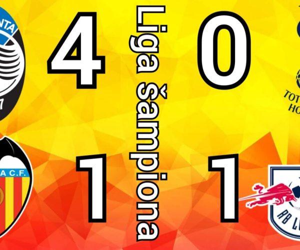 Totenhem – Lajpcig 0-1 ☆ Atalanta Valensija 4-1