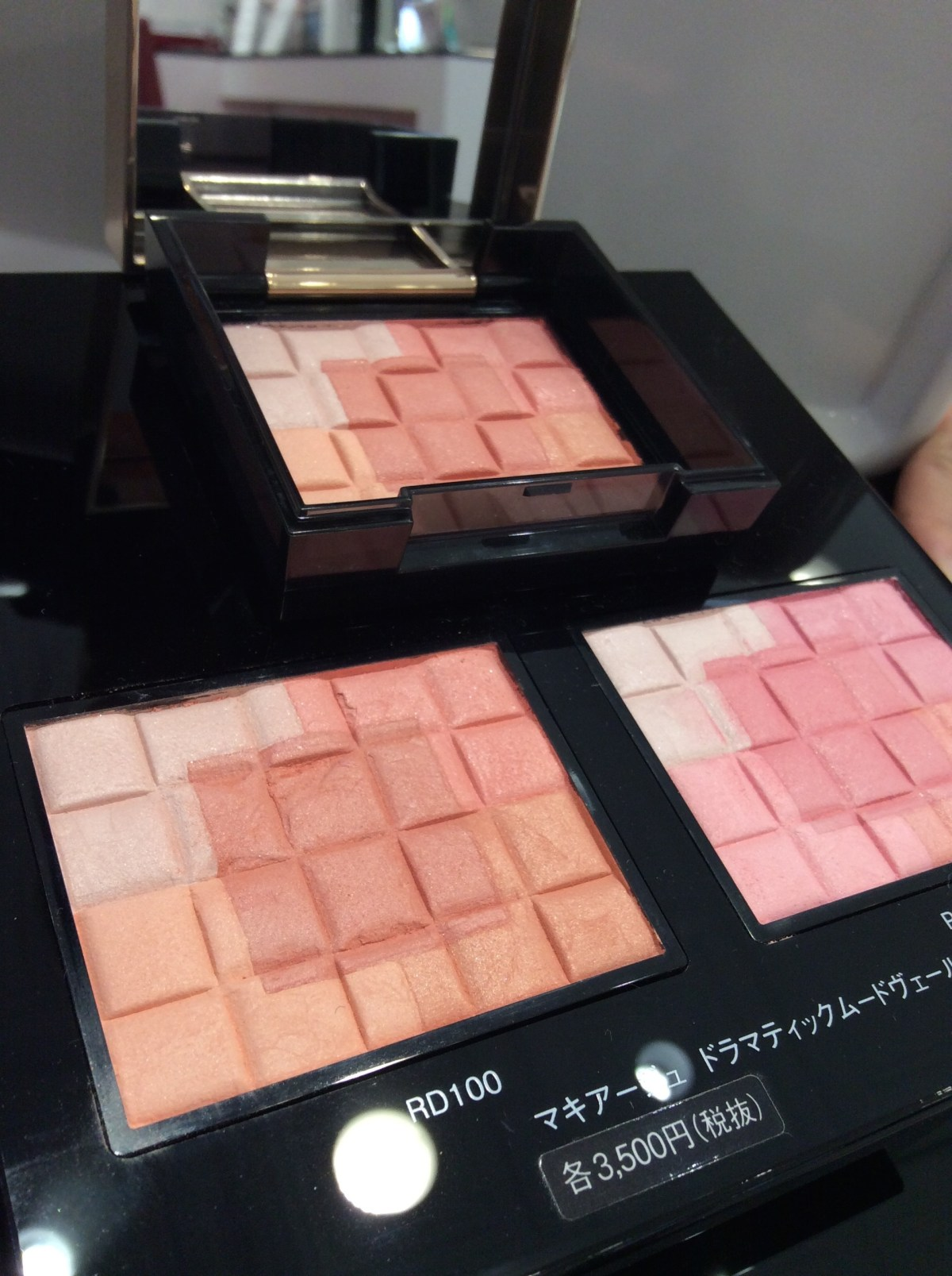 #shiseido #maquillage PK200 BD100 (3500 yen before tax each)