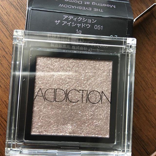 #addiction eyeshadow 51@2376 yen