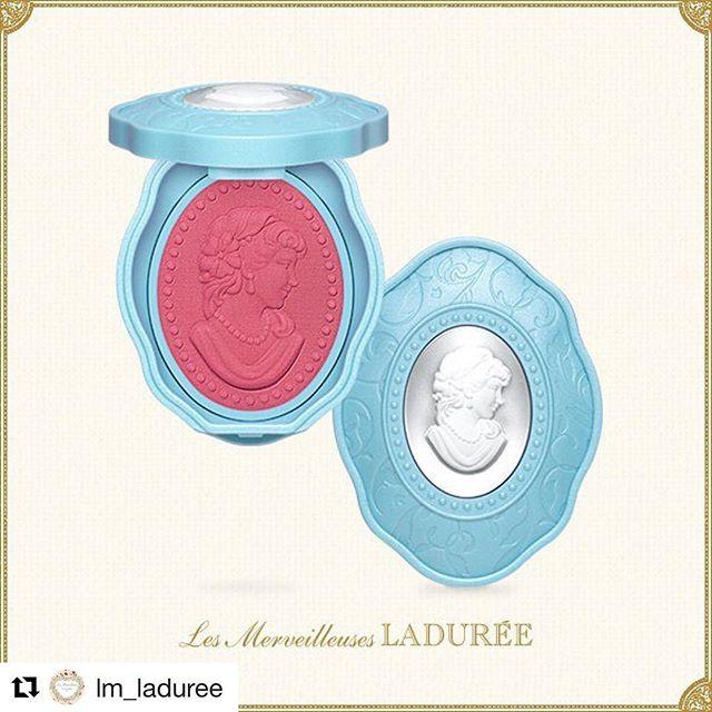 #Repost @lm_laduree (@get_repost)・・・PRESSD CHEEK COLOR N 101#lesmerveilleusesladuree #autumn #limitededition #cheek #color #red #cameo #beauty #boudoir #blue #design #laduree #lmladuree