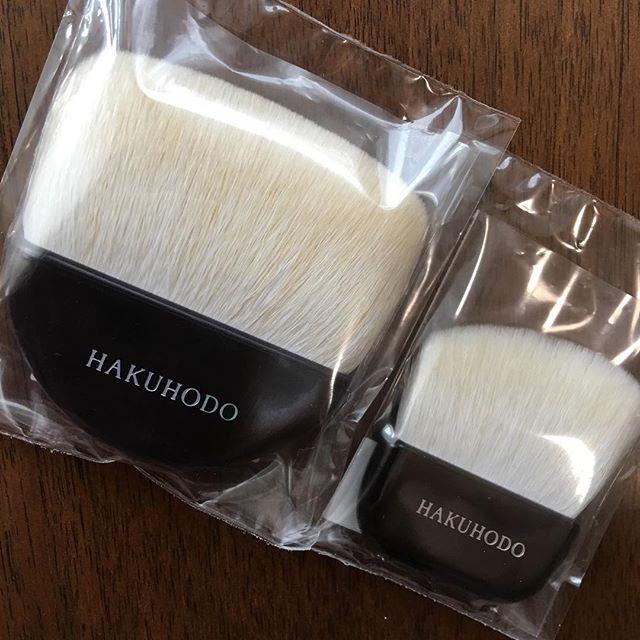#hakuhodo fan brush and mini