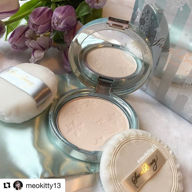 #Repost @meokitty13 (@get_repost)・・・Shiseido Maquillage  holiday 2016 makeup collection .The collection includes: -Snow Beauty III (with two powder puffs and a storage pouch, limited edition)#shiseido#shiseidomaquillage #maquillage#facepowder #japan#japanmakeup#japanbeautyproduct#clozette#follow4follow#instafollow#beauty#beautyblog#beautyblogger#beautyjunkie#beautyaddict#beautyreview#makeup#makeuplover#makeupaddict#makeupjunkie#makeupporn#makeupgeek#beautyblogger#blogger#ukblogger#meokitty13