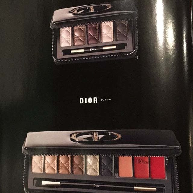 #Dior Christmas palette 13068 Yen 9029 Yen