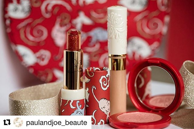 #paulandjoe #Repost @paulandjoe_beaute (@get_repost)・・・---【Champagne soirée story 🥂⑧】Champagne Soiree Makeup Collection! The perfect gift for your friends, family or even yourself!Quite possibly the most instagramable Holiday Makeup Collection!Eye gloss to add sparkle and brightness to your lidsChampagne rose blush to brush off dullness fromcomplexionCat lipstick to add some holiday red and champagne sparkle to brighten and add that holiday cheer! Put all 3 above in this photogenic cat print pouch and your Ready to go!・・■Makeup Collection 2017Out November 1st #PaulandJoe #paulandjoebeaute#ポールアンドジョー #holiday #limited #nice #good #beautiful #beauty #instagood #kit #coffret #makeup #collection #champagne #soiree #champagnemakeup #シャンパンソワレ #スパークリングリップ