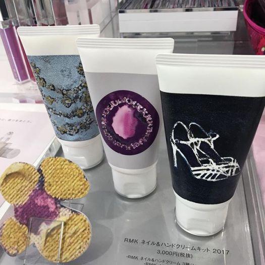 #RMK nail and hand cream