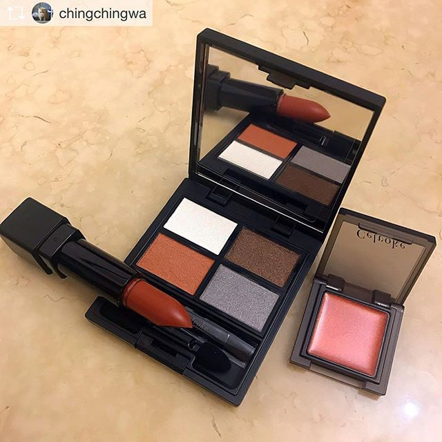 #celvoke eye palette Repost from @chingchingwa @TopRankRepost #TopRankRepost Thank you so much  I really love it
