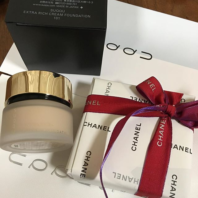 #suqqu extra rich cream foundation 101 and #Chanel