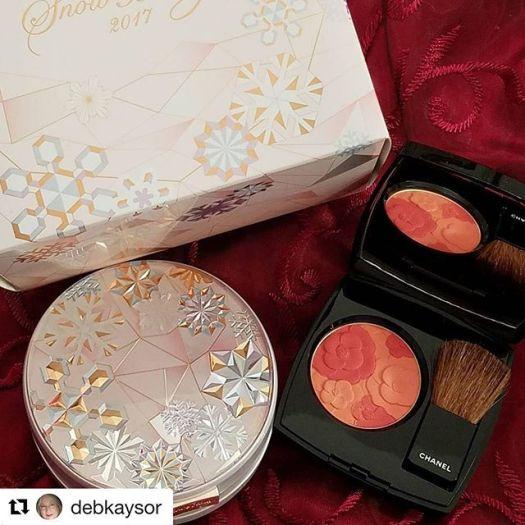 #Repost @debkaysor (@get_repost)・・・My Christmas present to myself. Shiseido Snow Beauty Powder and Chanel Peche blush. Both sent from Japan. Thank you,  Toshiya.  #fudejapan#chanel#shiseido#holiday