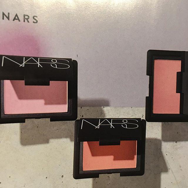 #NARS blush