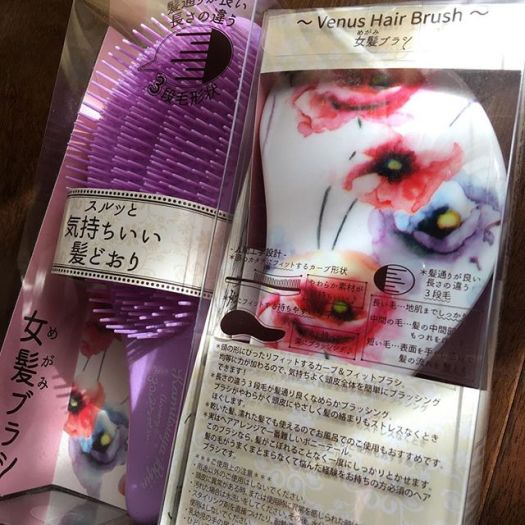 #annecy hair brush 1080 Yen