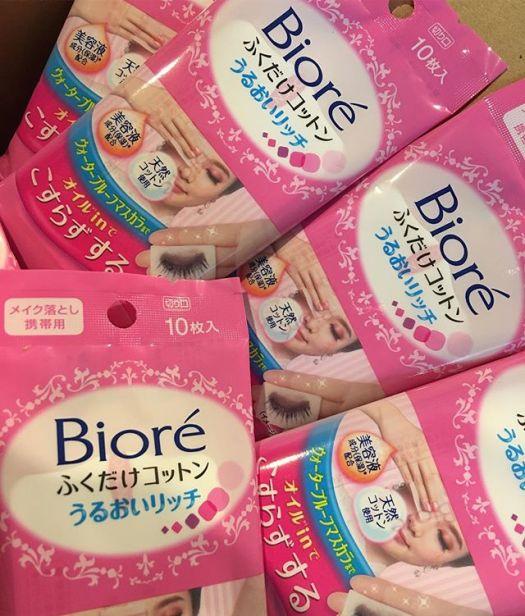 #biore cleansing cotton