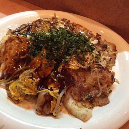 #Hiroshima #okonomiyaki