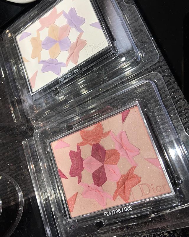 #Dior face powder