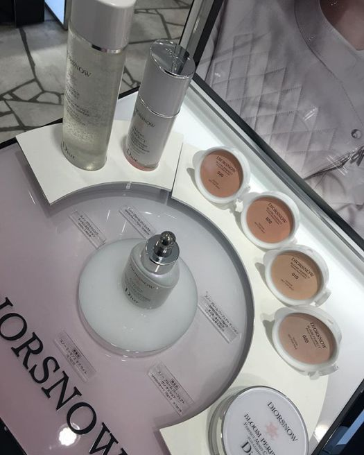 #diorsnow foundation