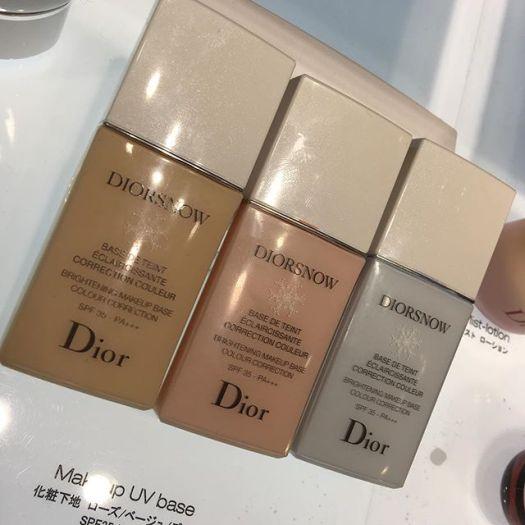 #Diorsnow UV