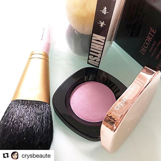 #Repost @crysbeaute with @get_repost・・・Lost this blusher during last trip; repurchased a new piece #cosmedecorte #pu150 #ilovemakeup #化妆品 #美容 #crysbeaute #beautyblog #beautyreview #makeupcollection #beautytalk  #skincare #instabeauty #sgbeauty  #instamakeup #makeuplovers #化粧品 #makeupmess #starclozetter #baila #howtomakeup #makeupcommunity #fashion #makeupcollector #beautyinsider #lulucos #purelamo #kihitsu #crueltyfree #熊野筆