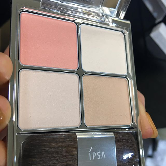 #IPSA face palette