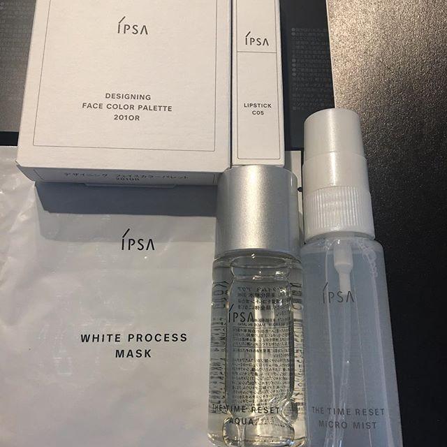 #IPSA #isetan limited kit10800 yen