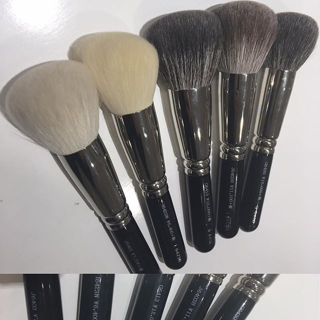 #hakuhodo powder brush