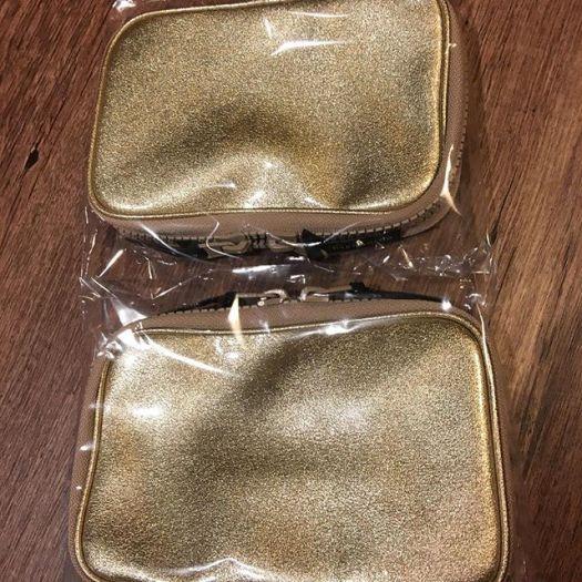 #Hakuhodo pouch Po811 champagne gold