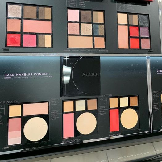 #addiction 10th anniversary palettes