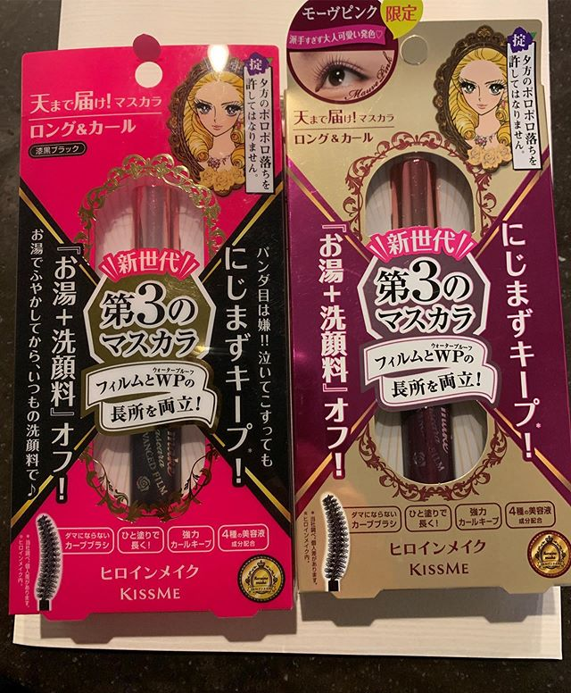 #kissme mascara 1560 yen