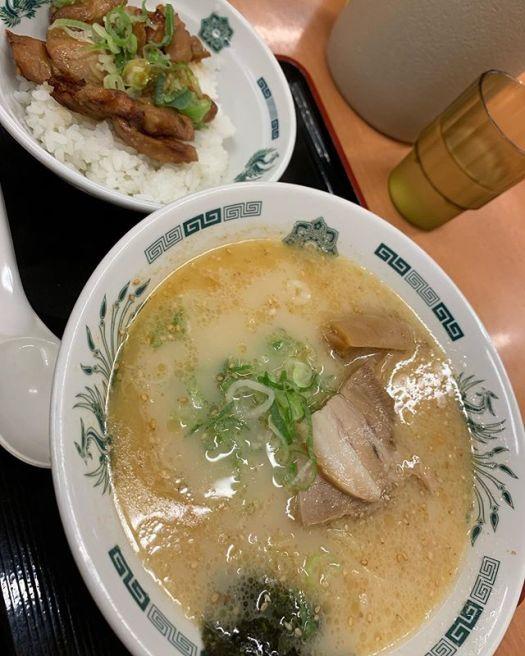 #ramen chicken lunch today 660 yen