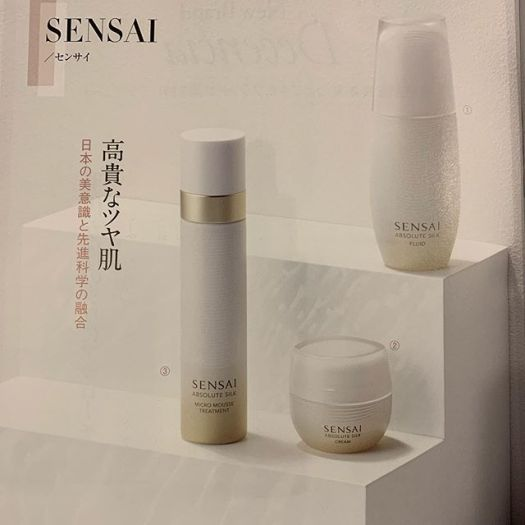 Now #Sensai can be bought in Japan from September