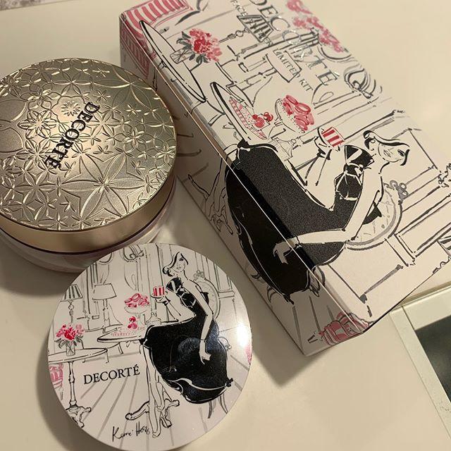 #decorte face powder limited 6000 yen