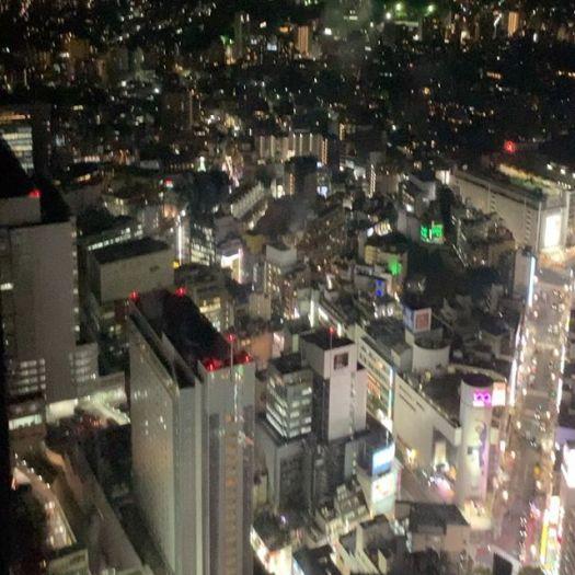 #Shibuya #scramblesquare now Top of the Shibuya Station