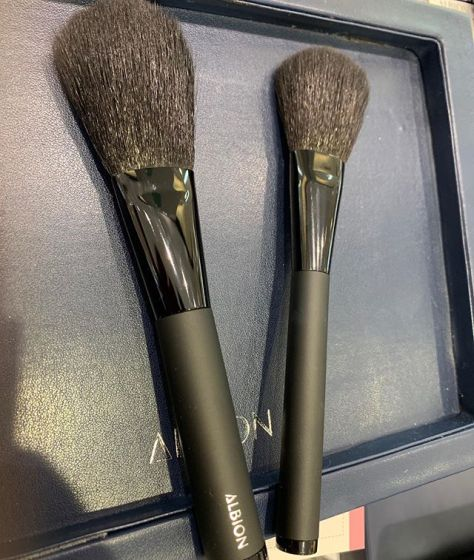#Albion brushes 6000 yen 4200 yen