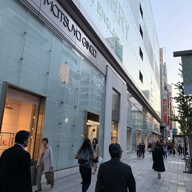 #Ginza now Apple has a new one ?