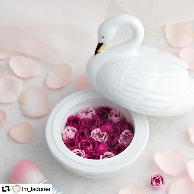 #laduree blush 14400 yen repost @lm_laduree・・・<ご予約承り中>⠀※一部店舗では、ご予約分を完売しております。ご了承ください。⠀⠀レ・メルヴェイユーズ ラデュレの「花びらチーク」から、2019ホリデーコレクションだけの限定版が登場。⠀⠀優雅な白鳥のポットに、小さなバラが敷き詰められた、特別なチークカラー。⠀⠀濃いピンクと淡いピンクのコンビネーションで優雅に頬を染め、バラのブーケを受け取った喜びや幸せにあふれた血色感を表現。⠀⠀ドレッサーに飾りたくなる、優雅で上品な白鳥のポットは、メイク時間を至福のときへと演出。⠀⠀* * *⠀2019 HOLIDAY COLLECTION⠀メルヴェイユーズの白鳥~Le cygnet des Melveilleuses~⠀11月29日(金)発売⠀⠀11月22日(金)予約開始⠀⠀● リミテッド エディション ローズ ラデュレ 限定1種 12,000円(税抜)⠀● リミテッド エディション チークブラッシュ 限定1種  6,000円(税抜)⠀● リップ グロス 限定2 色 3,200円(税抜)⠀⠀詳細は公式サイトからご覧ください。⠀⠀#レメルヴェイユーズラデュレ #ラデュレ #ラデュレコスメ #lesmerveilleusesladuree #lesmerveilleusesladurée #laduree #lmladuree #ladureemakeup #holiday #クリスマスギフト #クリスマスコフレ #コフレ #サムシングブルー #白鳥 #白鳥の湖 #スワン #自分へのご褒美 #クリスマスコフレ2019 #リミテッドエディションローズラデュレ #リップグロス #リミテッドエディションチークブラッシュ #rosepetal #花弁チーク #花びらチーク  #ギフト #クリスマスプレゼント #チーク
