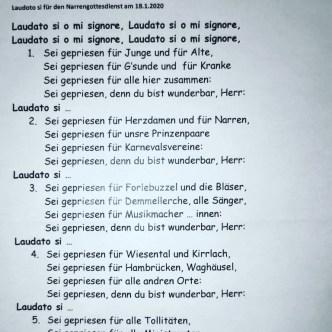 2020-01-18 Fasenachtsgottesdienst Hambrücken 03 (Mittel)