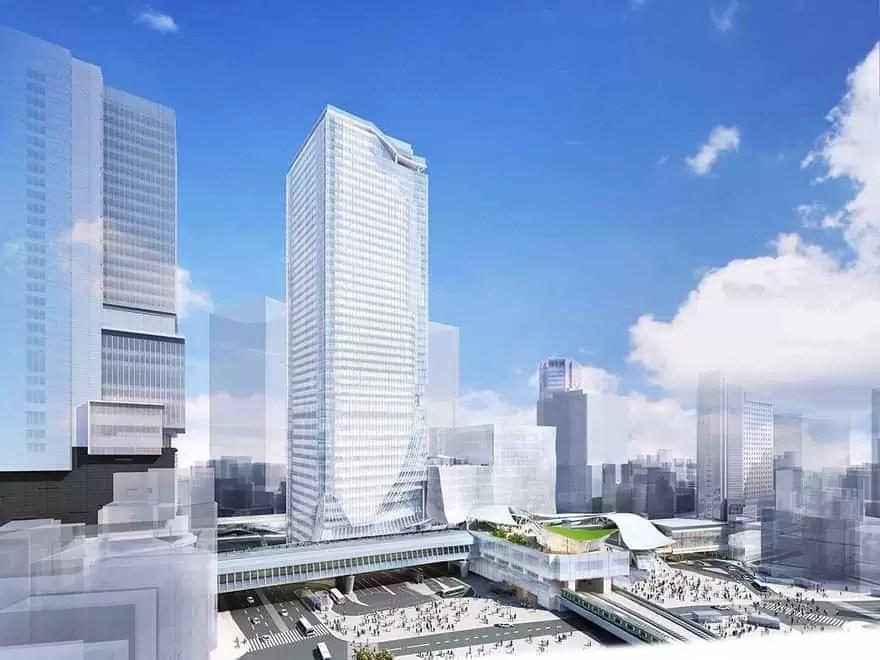 渋谷スクランブルスクエア 完成予想図