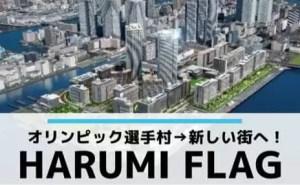 オリンピック選手村が新しい街ハルミフラッグHARUMI FLAGに!坪単価は?
