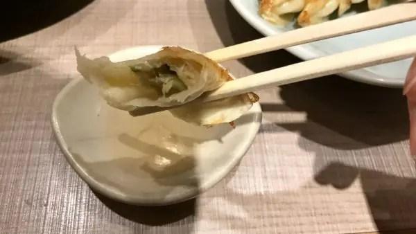 宇都宮みんみんホテルアール・メッツ店で焼き餃子を食べる