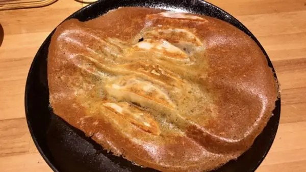 チーズ羽根餃子