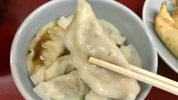 宇都宮みんみんの水餃子