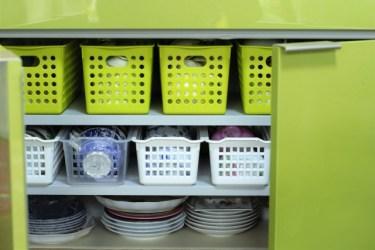 賃貸でも使いやすいキッチンに!すぐできる簡単収納術!