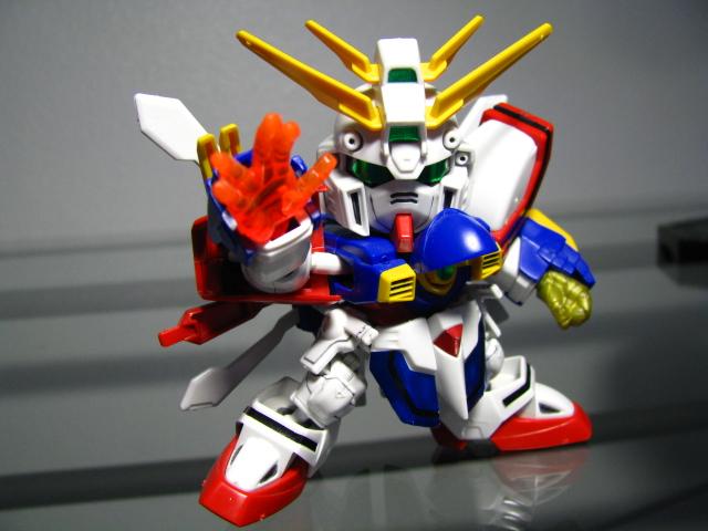 SD God Gundam – ガンプラ命