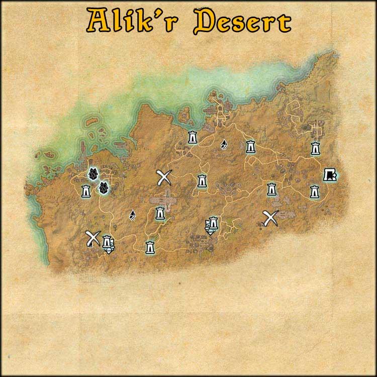 Mapa de Time Rifts de Desert