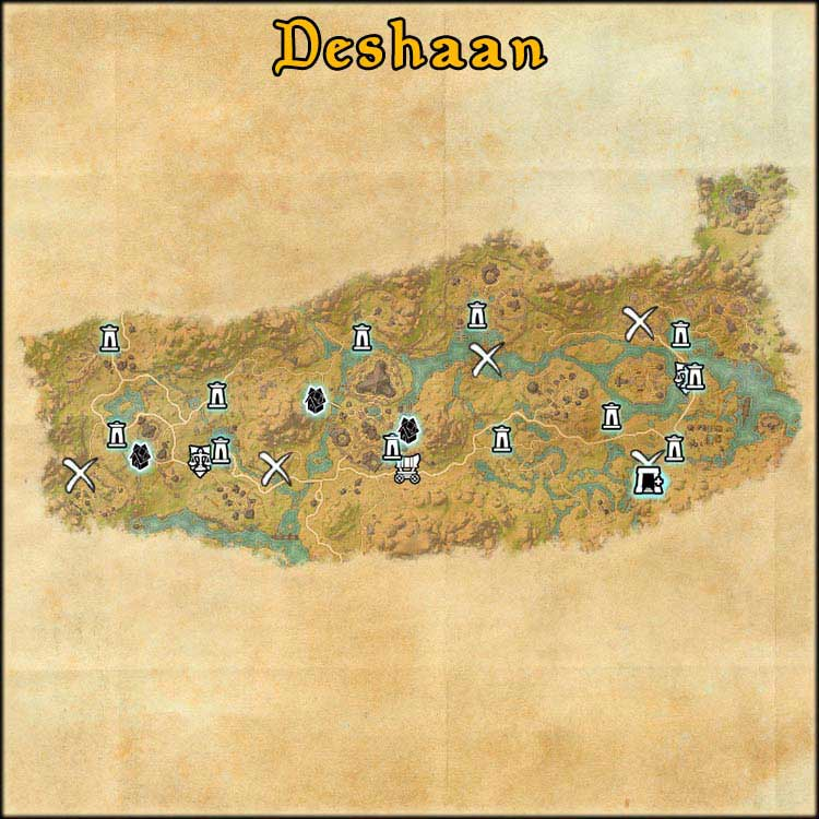 Mapa de Time Rifts de Deshaan