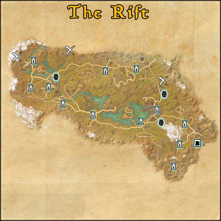Mapa de Time Rifts de The Rift