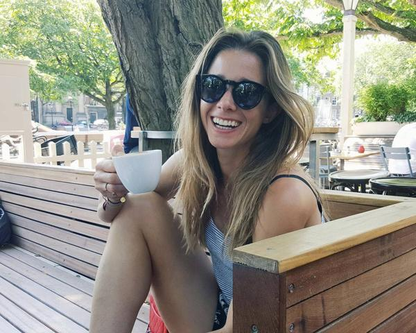 Ellen Hogg, jugadora holandesa de hockey femenino sobre césped.